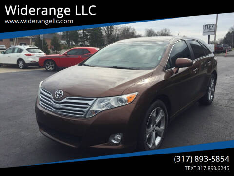 2009 Toyota Venza for sale at Widerange LLC in Greenwood IN