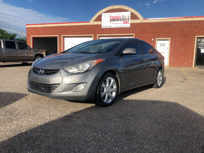 2013 Hyundai Elantra for sale at Family Auto Finance OKC LLC in Oklahoma City OK