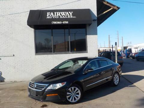 2012 Volkswagen CC for sale at FAIRWAY AUTO SALES, INC. in Melrose Park IL