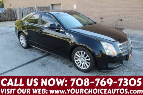 2010 Cadillac CTS for sale at Your Choice Autos in Posen IL