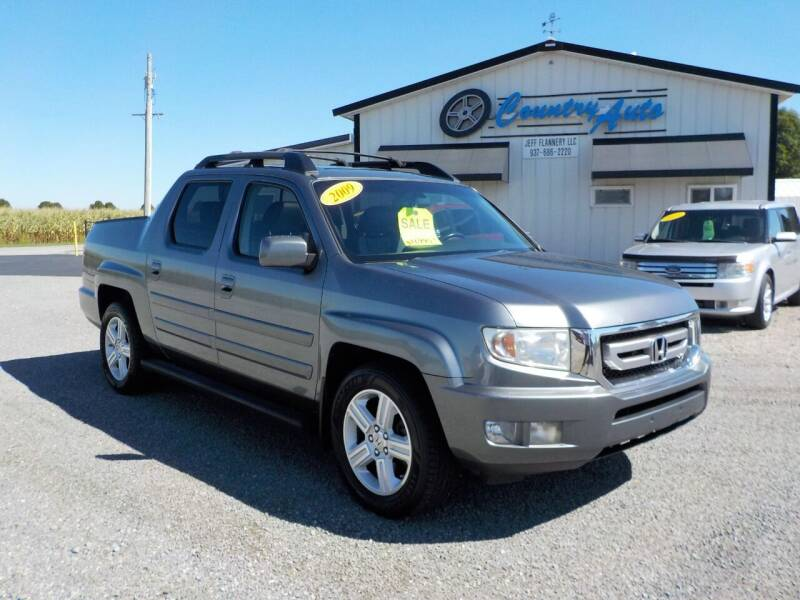 2009 Honda Ridgeline for sale at Country Auto in Huntsville OH