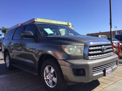 2008 Toyota Sequoia for sale at CARCO SALES & FINANCE in Chula Vista CA