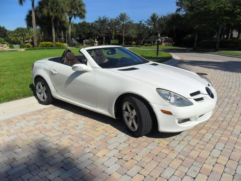 2006 Mercedes-Benz SLK for sale at AUTO HOUSE FLORIDA in Pompano Beach FL