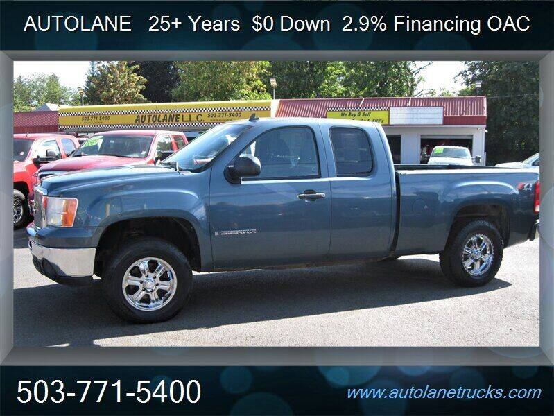 2009 GMC Sierra 1500 for sale at Auto Lane in Portland OR