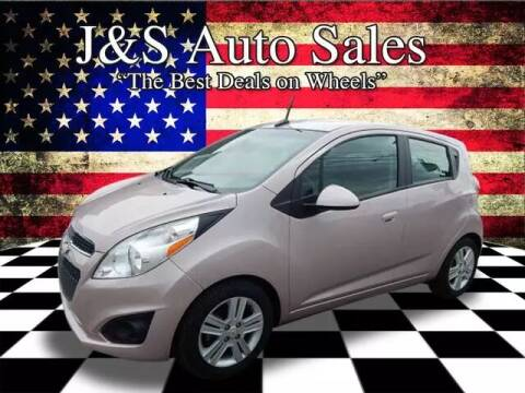 2013 Chevrolet Spark for sale at J & S Auto Sales in Clarksville TN