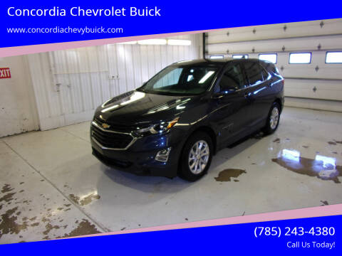 2018 Chevrolet Equinox for sale at Concordia Chevrolet Buick in Concordia KS