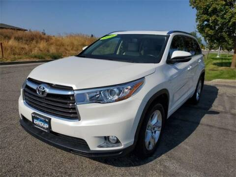2016 Toyota Highlander for sale at Group Wholesale, Inc in Post Falls ID