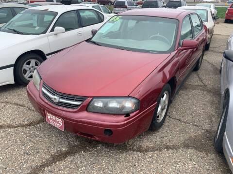 2005 Chevrolet Impala for sale at Buena Vista Auto Sales in Storm Lake IA