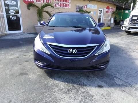 2012 Hyundai Sonata for sale at VALDO AUTO SALES in Miami FL