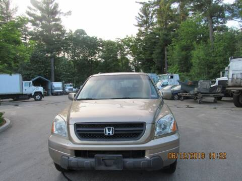 2005 Honda Pilot for sale at Heritage Truck and Auto Inc. in Londonderry NH