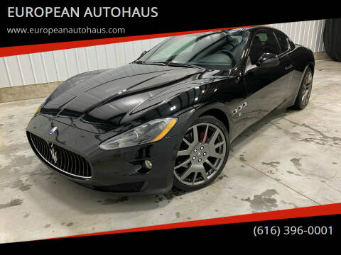 2009 Maserati GranTurismo for sale at EUROPEAN AUTOHAUS in Holland MI