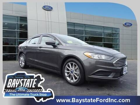 2017 Ford Fusion for sale at Baystate Ford in South Easton MA