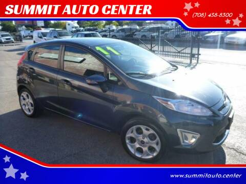 2011 Ford Fiesta for sale at SUMMIT AUTO CENTER in Summit IL