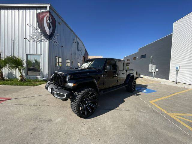 2021 Jeep Gladiator for sale at Barrett Auto Gallery in San Juan TX
