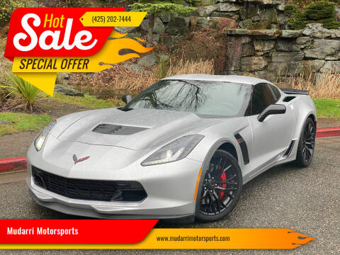 2016 Chevrolet Corvette for sale at Mudarri Motorsports in Kirkland WA