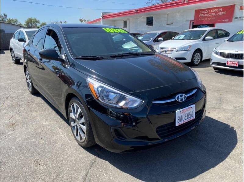 2017 Hyundai Accent for sale at Dealers Choice Inc in Farmersville CA
