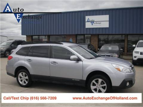 2014 Subaru Outback for sale at Auto Exchange Of Holland in Holland MI