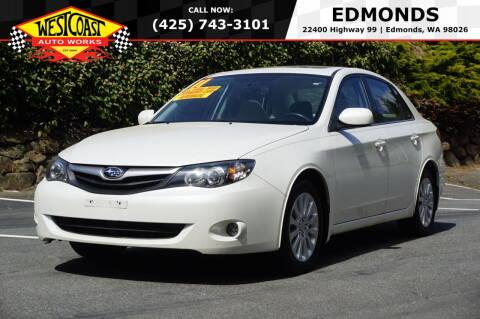2011 Subaru Impreza for sale at West Coast Auto Works in Edmonds WA