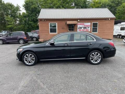 2015 Mercedes-Benz C-Class for sale at Super Cars Direct in Kernersville NC