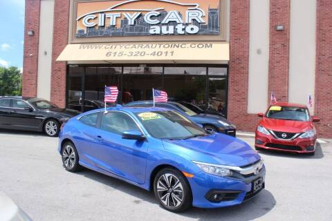 2017 Honda Civic for sale at CITY CAR AUTO INC in Nashville TN