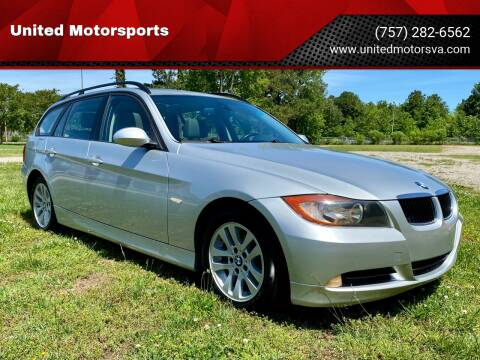 2007 BMW 3 Series for sale at United Motorsports in Virginia Beach VA