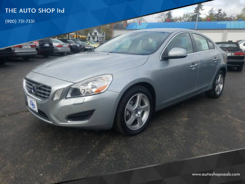 2013 Volvo S60 for sale at THE AUTO SHOP ltd in Appleton WI