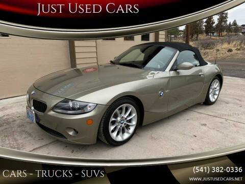 2005 BMW Z4 for sale at Just Used Cars in Bend OR