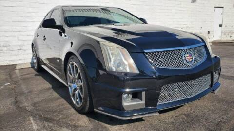 2012 Cadillac CTS-V for sale at ADVANTAGE AUTO SALES INC in Bell CA