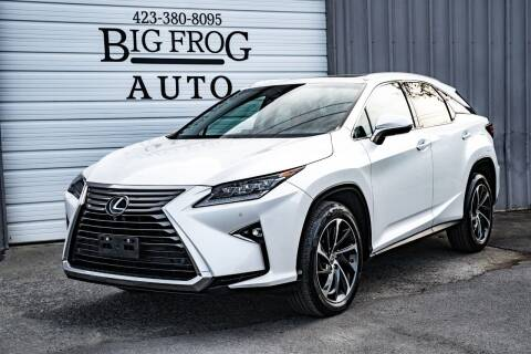2017 Lexus RX 350 for sale at Big Frog Auto in Cleveland TN