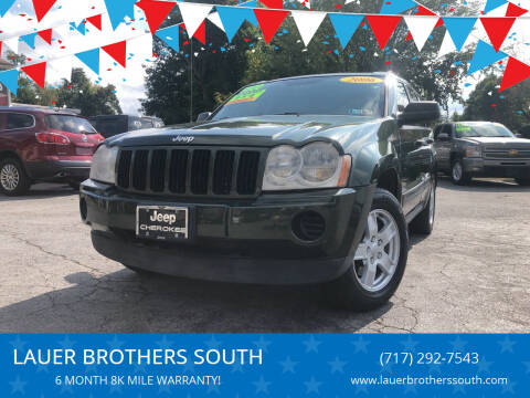 2006 Jeep Grand Cherokee for sale at LAUER BROTHERS SOUTH in York PA
