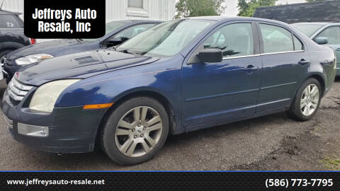 2007 Ford Fusion for sale at Jeffreys Auto Resale, Inc in Clinton Township MI
