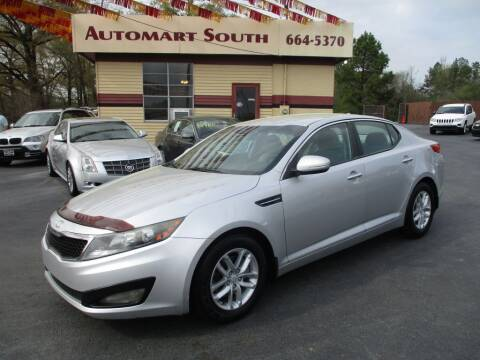 2013 Kia Optima for sale at Automart South in Alabaster AL