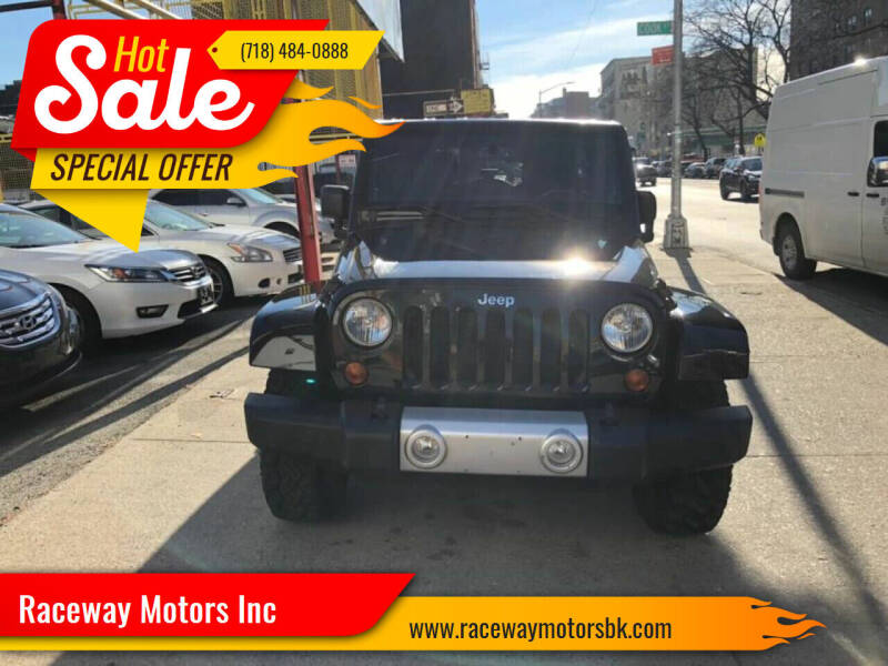 2013 Jeep Wrangler Unlimited for sale at Raceway Motors Inc in Brooklyn NY