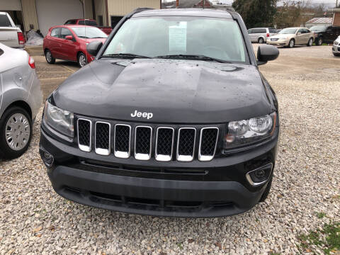 2014 Jeep Compass for sale at ADKINS PRE OWNED CARS LLC in Kenova WV