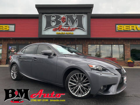 2014 Lexus IS 250 for sale at B & M Auto Sales Inc. in Oak Forest IL