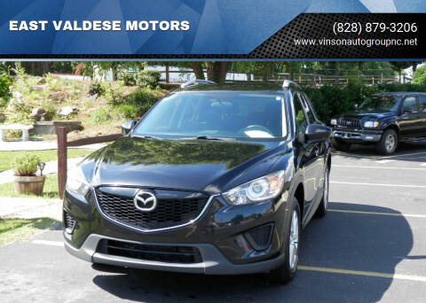 2014 Mazda CX-5 for sale at EAST VALDESE MOTORS in Valdese NC