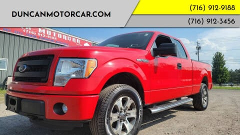 2014 Ford F-150 for sale at DuncanMotorcar.com in Buffalo NY