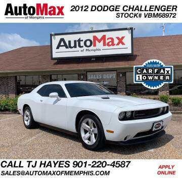 2012 Dodge Challenger for sale at AutoMax of Memphis - V Brothers in Memphis TN