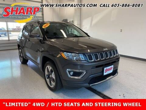 2020 Jeep Compass for sale at Sharp Automotive in Watertown SD