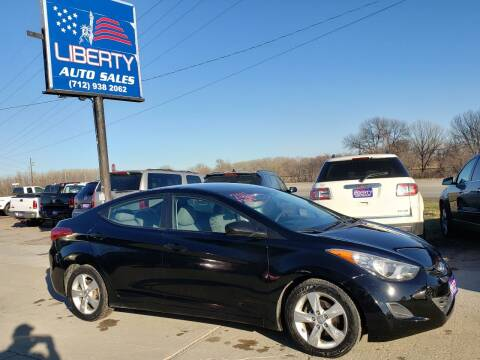 2011 Hyundai Elantra for sale at Liberty Auto Sales in Merrill IA