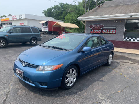 2006 Honda Civic for sale at PETE'S AUTO SALES LLC - Middletown in Middletown OH