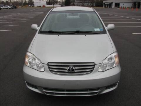2004 Toyota Corolla for sale at Iron Horse Auto Sales in Sewell NJ