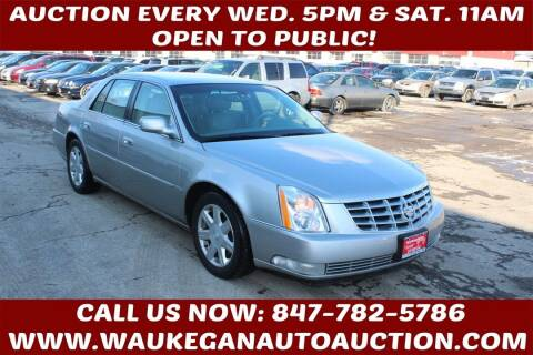 2007 Cadillac DTS for sale at Waukegan Auto Auction in Waukegan IL