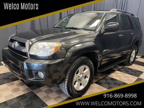 2006 Toyota 4Runner for sale at Welco Motors in Rancho Cordova CA
