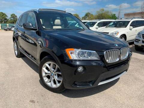 2013 BMW X3 for sale at KAYALAR MOTORS in Houston TX