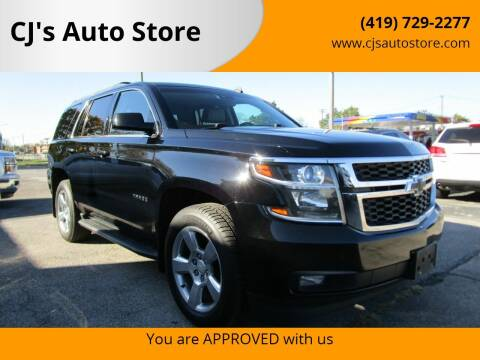 2015 Chevrolet Tahoe for sale at CJ's Auto Store in Toledo OH
