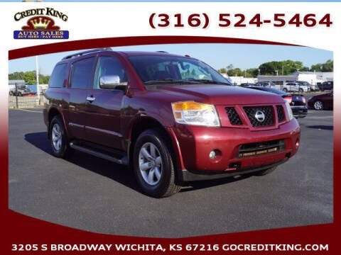 2010 Nissan Armada for sale at Credit King Auto Sales in Wichita KS
