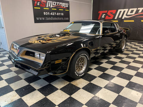 1978 Pontiac Trans Am for sale at T & S Motors in Ardmore TN