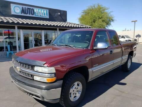 2002 Chevrolet Silverado 1500 for sale at Auto Hall in Chandler AZ