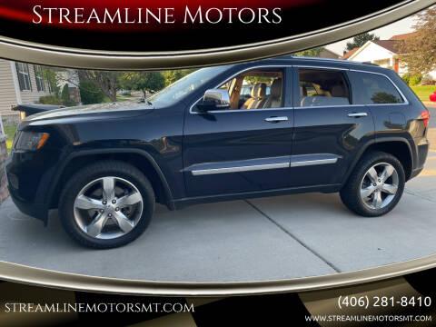 2011 Jeep Grand Cherokee for sale at Streamline Motors in Billings MT